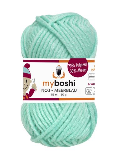 - My Boshi No 1. - Meerblau 158 Lieblingsfarben - Häkelgarn kaufen - My Boshi No 1. - Meerblau 158 Lieblingsfarben - Häkelgarn kaufen