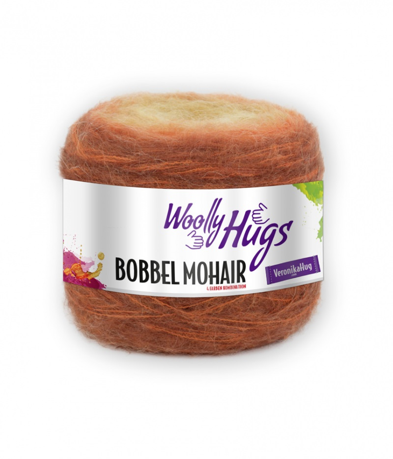 - Mohair Woolly Hugs Bobbel Farbe 02 - kostenloser Versand  - Mohair Woolly Hugs Bobbel Farbe 02 - kostenloser Versand