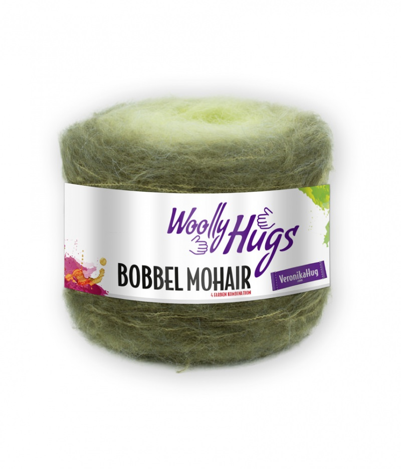 - Woolly Hugs Bobbel Farbe 03 Mohair von Veronika Hug - Woolly Hugs Bobbel Farbe 03 Mohair von Veronika Hug
