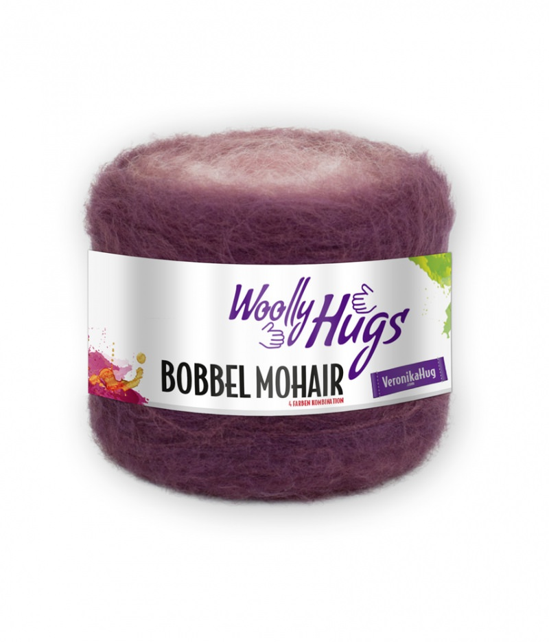 - Woolly Hugs Bobbel Mohair Farbe 04 Farbverlaufsgarn 150g/Stück - Woolly Hugs Bobbel Mohair Farbe 04 Farbverlaufsgarn 150g/Stück