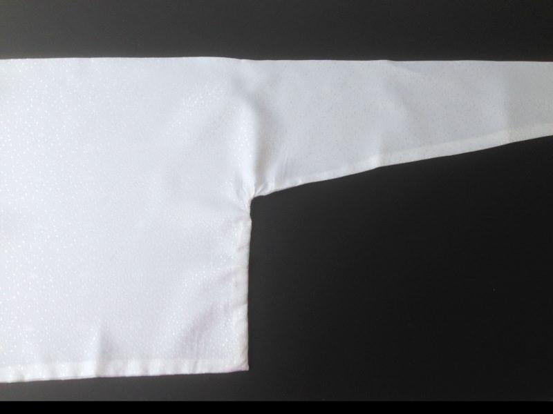 Kleinesbild - Französisches Halstuch, Franton, Schal-Transformer in weiß