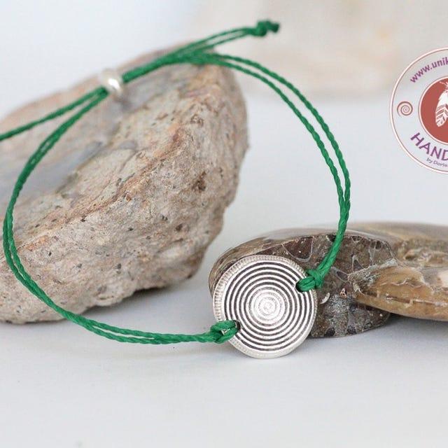 Kleinesbild - Kraft.-Armband Zen Herzchakra