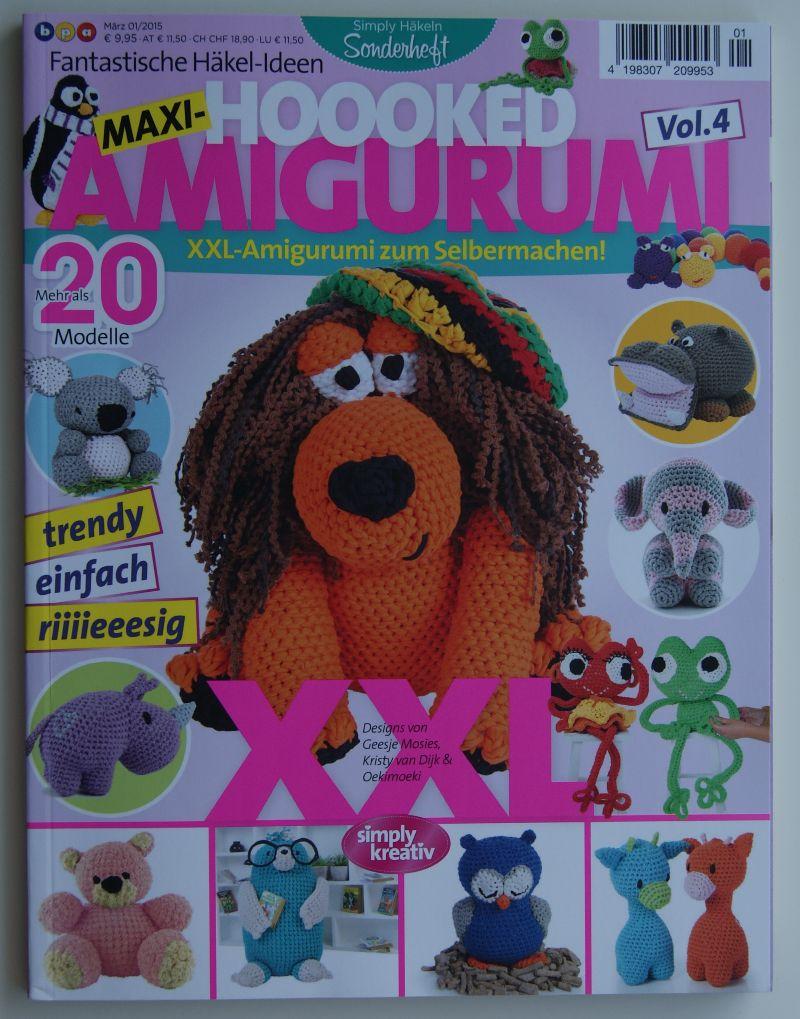 - AMIGURUMI Sonderheft Simply Häkeln Vol. 4 - AMIGURUMI Sonderheft Simply Häkeln Vol. 4