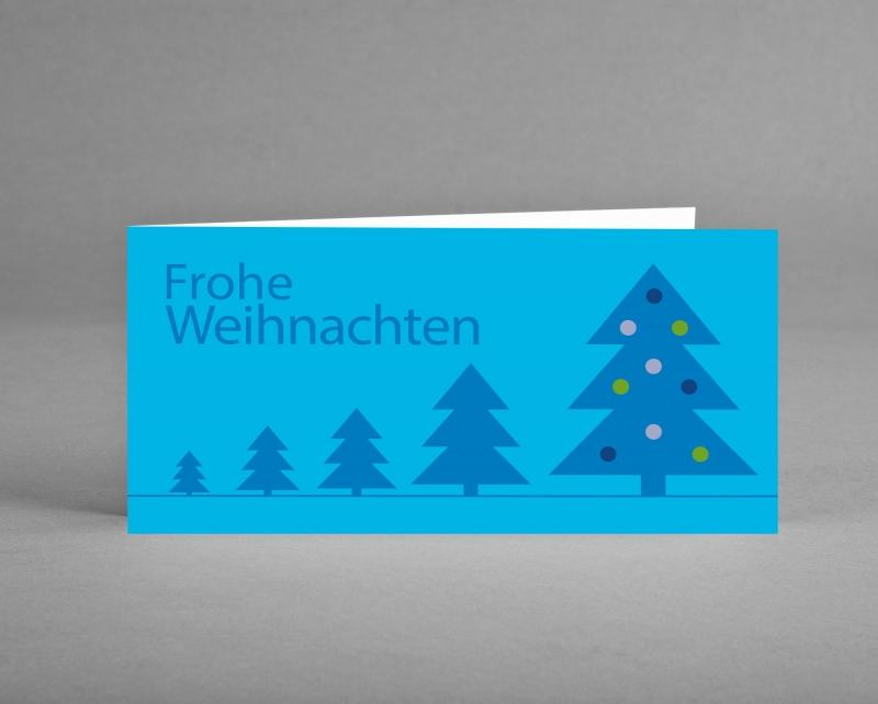 """- Weihnachtskarte """"Weihnachtsbäume auf blau"""" ♡ selbst entworfen ♡ inkl. Kuvert und Versand plus Gratis-Karte - Weihnachtskarte """"Weihnachtsbäume auf blau"""" ♡ selbst entworfen ♡ inkl. Kuvert und Versand plus Gratis-Karte"""