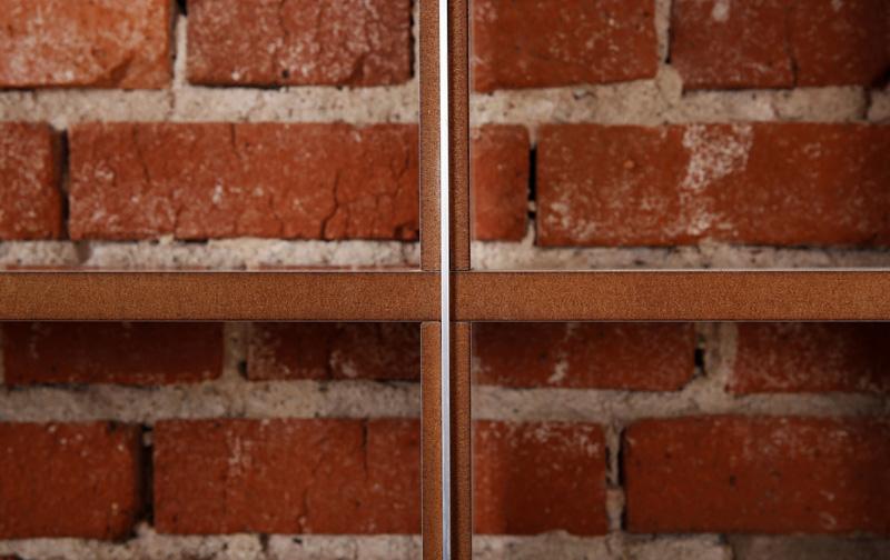 Kleinesbild - Regal purista fixed aus MDF weiß beschichtet mit Aluminiumschienen