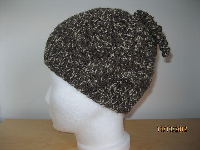 - Warme Mütze mit lustigen Spiralen - Warme Mütze mit lustigen Spiralen