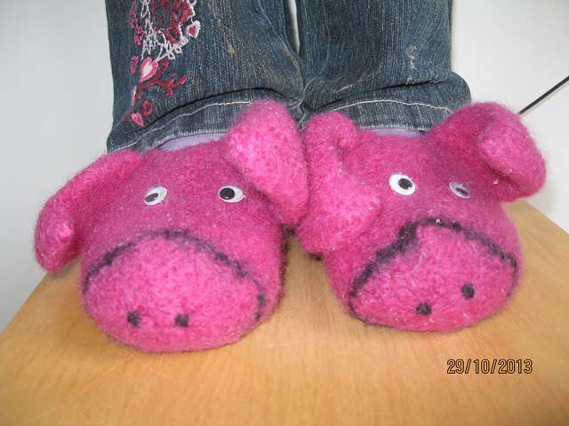 Kinderschuhe lustige ferkelchen pantoffeln f r kid 39 s - Lustige pantoffeln ...