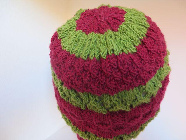 Kleinesbild - handgestrickte Mütze