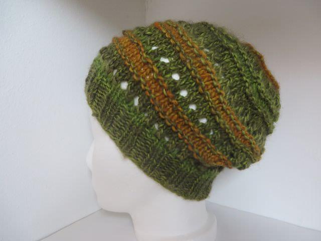 - Mütze gestrickt  - Mütze gestrickt