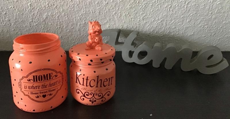 Kleinesbild -  2er Set Teelichtglas ♥ Aufbewahrung  ♥️Geschenk  ♥️ upcycling ♥ Unikat - Home