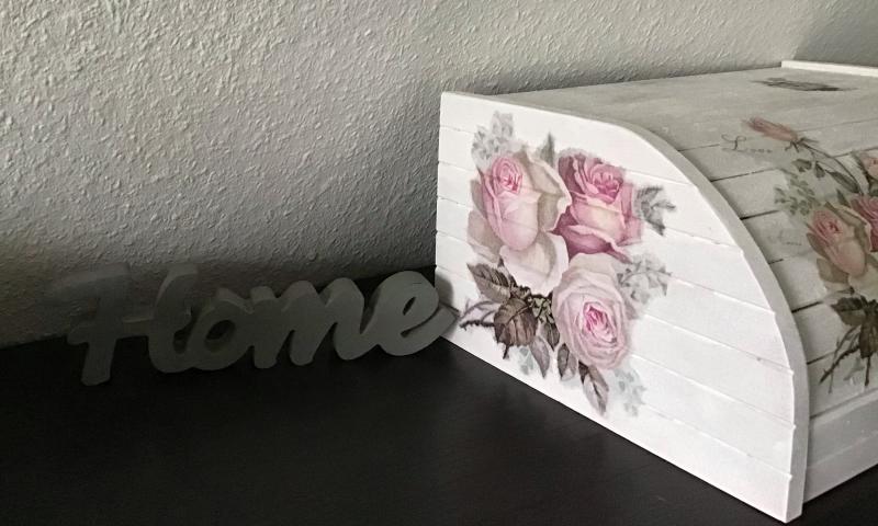 Kleinesbild - Brotkasten ♥ Aufbewahrung  ♥️Geschenk  ♥️ upcycling ♥ Unikat - Vintage Rosen
