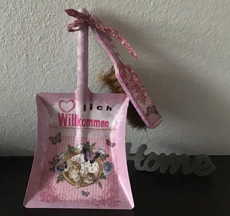 - Kehrbesen Set Deko ♥ handmade ♥️ einzigartiges Geschenk ♥️Unikat -  Katzen im Bild - Kehrbesen Set Deko ♥ handmade ♥️ einzigartiges Geschenk ♥️Unikat -  Katzen im Bild