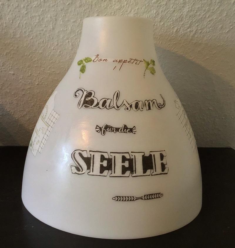Kleinesbild - Küchenlampe ♥ Deckenlampe ♥️ Einzigartig ♥️ Geschenk ♥ Vintage ♥ Unikat  - Köche