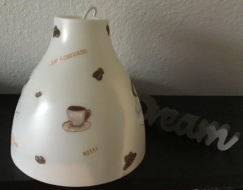 Kleinesbild - Küchenlampe ♥ Deckenlampe ♥️ Einzigartig ♥️ Geschenk ♥ Vintage ♥  Unikat - Café