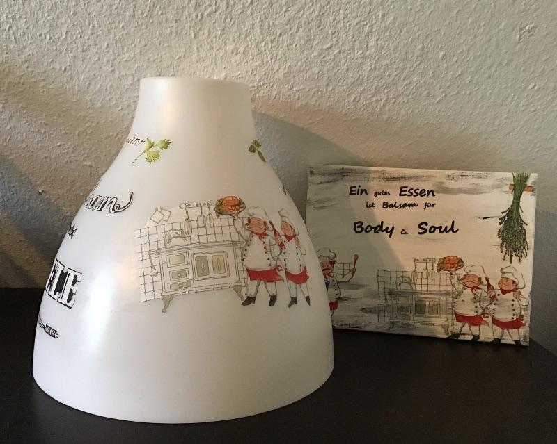 Kleinesbild - Küchenlampe ♥ Wandlampe ♥️ Einzigartig ♥️ Geschenk ♥ Vintage ♥ Unikat  - Köche