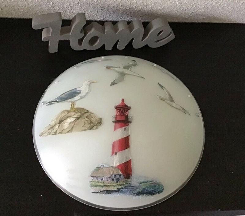 - Badlampe ♥ Wandlampe ♥️ Einzigartig ♥️ Geschenk ♥ Vintage ♥ Unikat - Leuchtturm - Badlampe ♥ Wandlampe ♥️ Einzigartig ♥️ Geschenk ♥ Vintage ♥ Unikat - Leuchtturm