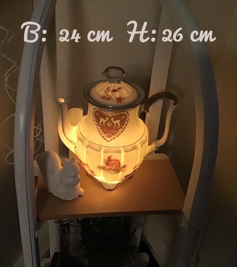 - Beleuchtete Kaffeekanne  ♥ Einzigartig♥ Geschenk ♥ Vintage ♥ Unikat  -  i mag di .... - Beleuchtete Kaffeekanne  ♥ Einzigartig♥ Geschenk ♥ Vintage ♥ Unikat  -  i mag di ....