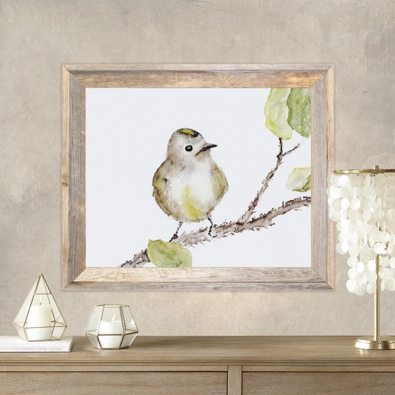 Kleinesbild - Fine Art Print vom Originalen Aquarell Vögelchen