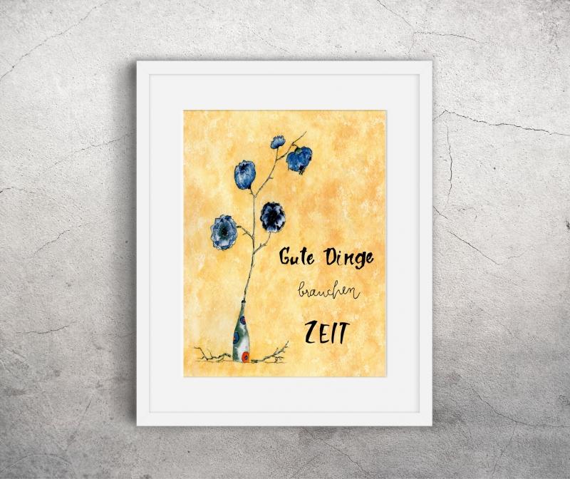 - Wanddekoration Poster, hochwertiger Kunstdruck A4 - Wanddekoration Poster, hochwertiger Kunstdruck A4