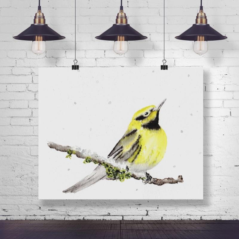 - Fine Art Print des handgemalten Aquarells , Vogel - Fine Art Print des handgemalten Aquarells , Vogel