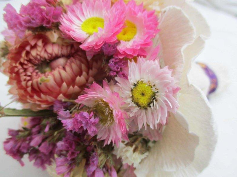 """Kleinesbild - Blumenstrauß """"Zarte Blumen"""", 12cm"""
