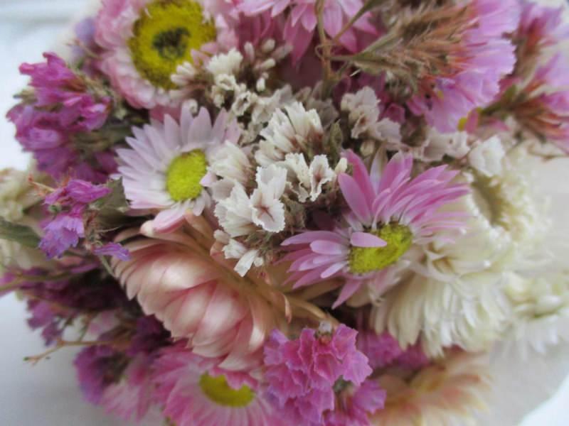 """- Blumenstrauß """"Zarte Blumen"""", 12cm - Blumenstrauß """"Zarte Blumen"""", 12cm"""