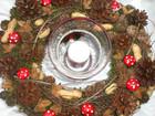 Kleinesbild - Winterkranz, 35cm