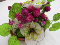 Kleinesbild - Blumentischdeko, 22cm
