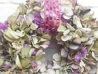 Kleinesbild - Hortensienkranz, 25cm