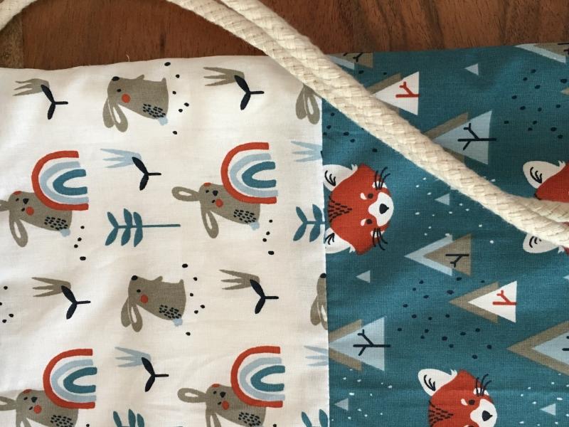 Kleinesbild - Turnbeutel Kleiner Hase und der rote Panda