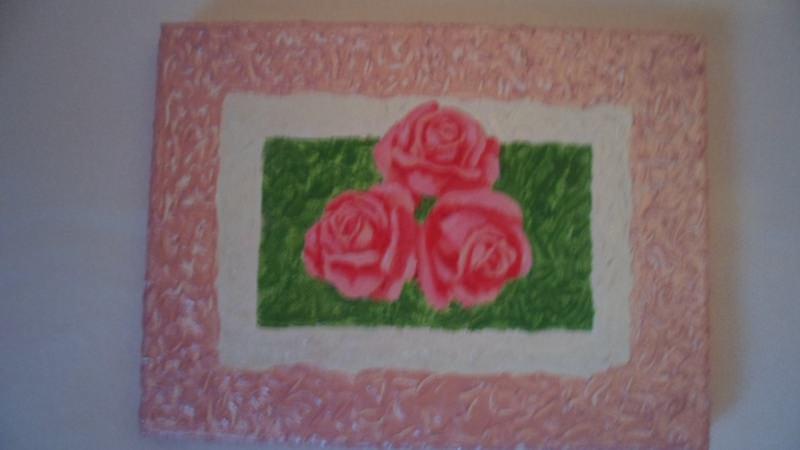 - kleines Bild gemalt mit Acrylfarben und Strukturfarbe 24x18,5 Geschenk - kleines Bild gemalt mit Acrylfarben und Strukturfarbe 24x18,5 Geschenk