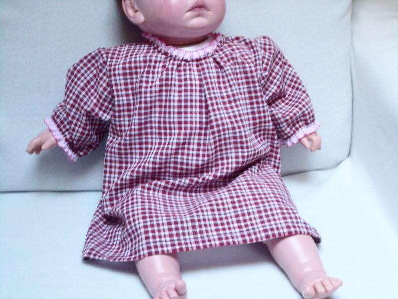 - Sommer Bluse Größe 80 – 86 für Kleinkinder. Eine romantische Bluse im Karomuster weiß - dunkelrot  - Sommer Bluse Größe 80 – 86 für Kleinkinder. Eine romantische Bluse im Karomuster weiß - dunkelrot