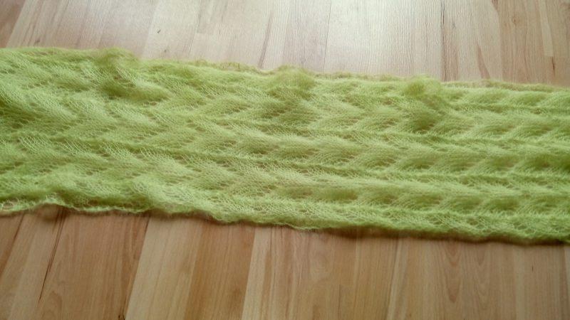 Kleinesbild - Loop aus Mohair mit Seide in verschiedenen Farben und Mustern