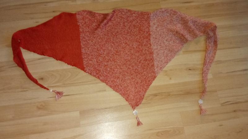 Kleinesbild - Sommerliche Dreieckstücher aus Baumwolle mit Verlaufsfarben
