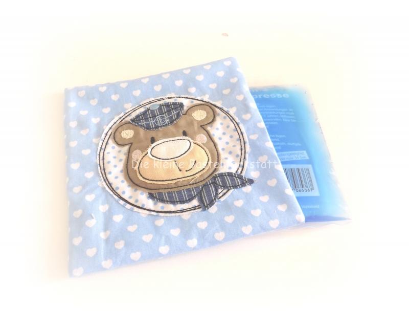 - Kühlpad, Kühlbadhülle, Wärmekissen, Kühlpadhülle Herzchen und Bär - Kühlpad, Kühlbadhülle, Wärmekissen, Kühlpadhülle Herzchen und Bär