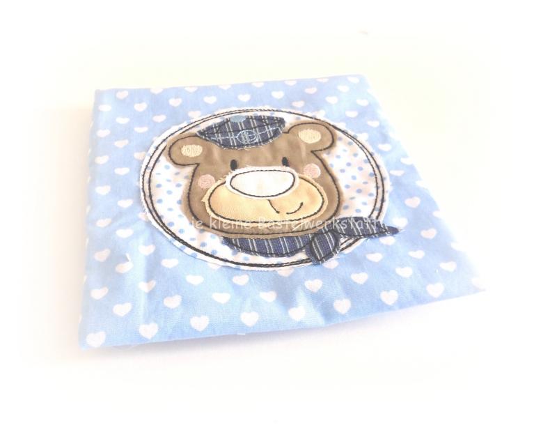 Kleinesbild - Kühlpad, Kühlbadhülle, Wärmekissen, Kühlpadhülle Herzchen und Bär