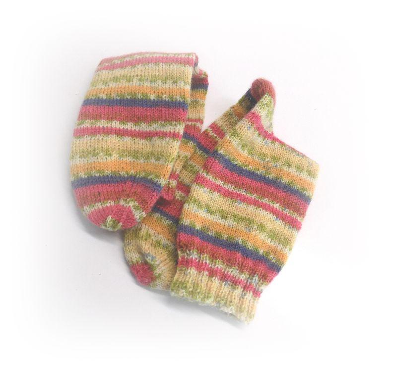 Kleinesbild - Socken Gr. 38/39, Socken gestrickt, Socken mit Bummerangferse