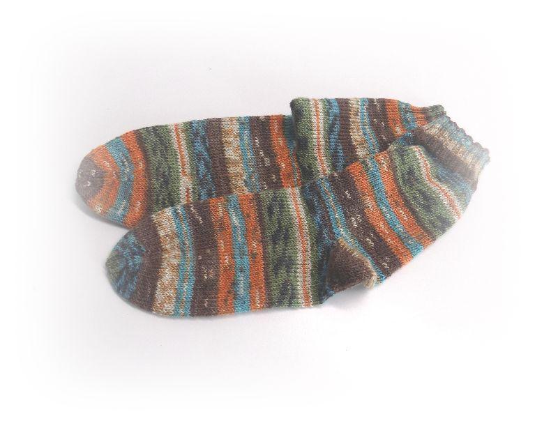 - Socken Gr. 38, Socken gestrickt, Socken mit Bummerangferse - Socken Gr. 38, Socken gestrickt, Socken mit Bummerangferse
