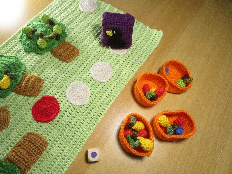 Kleinesbild - Rabenspiel - Farben lernen auf spielerischer Art