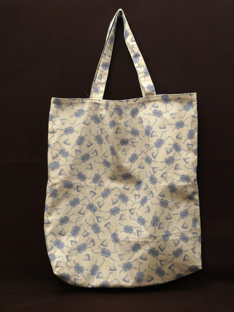 - Wendetasche / Einkaufstasche aus Baumwolle - Maritim - Wendetasche / Einkaufstasche aus Baumwolle - Maritim