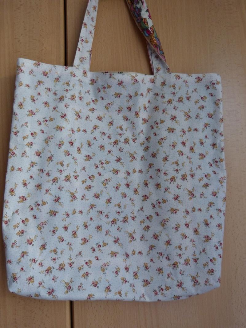 Kleinesbild - Wendetasche / Einkaufstasche aus Baumwollstoff - bunt mit schönem Motiv