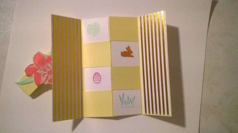 Kleinesbild - Geheime Nachricten Karte (Secred Massag Card), Ostergrußkarte
