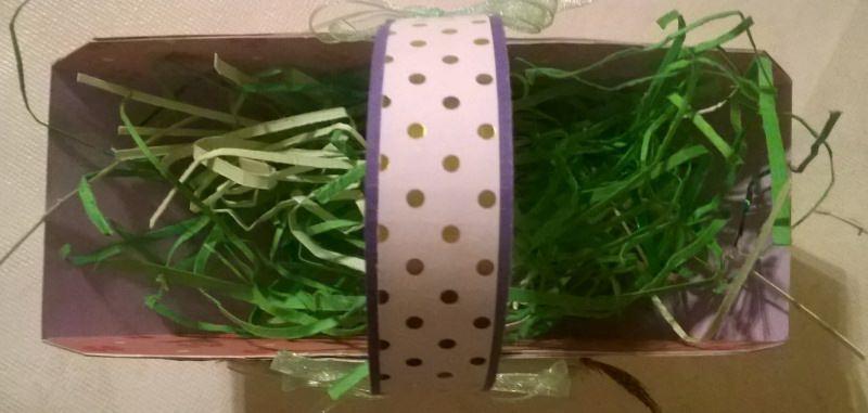 Kleinesbild - Osterkörbchen (Osternest) mit Gras