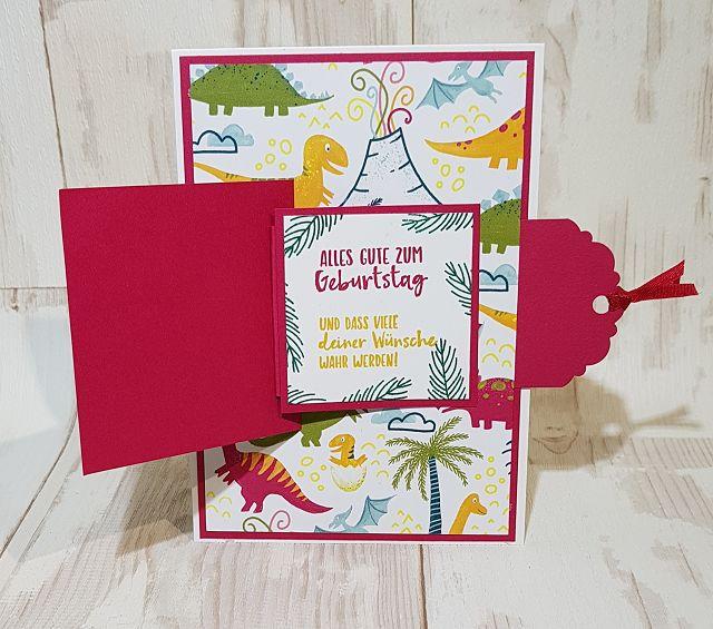 Kleinesbild - Schöne bunte Geburtstagskarte für ein Kind