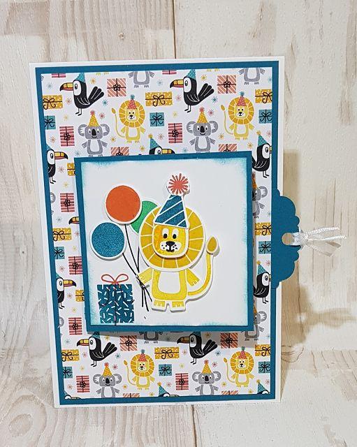 - Schöne bunte Geburtstagskarte für ein Kind - Schöne bunte Geburtstagskarte für ein Kind