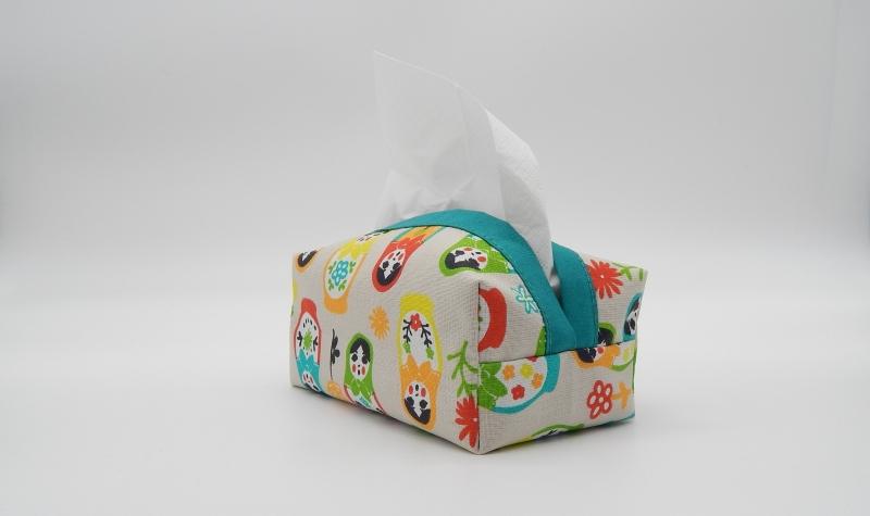 - Taschentuchbox für daheim aus Baumwolle  - Taschentuchbox für daheim aus Baumwolle