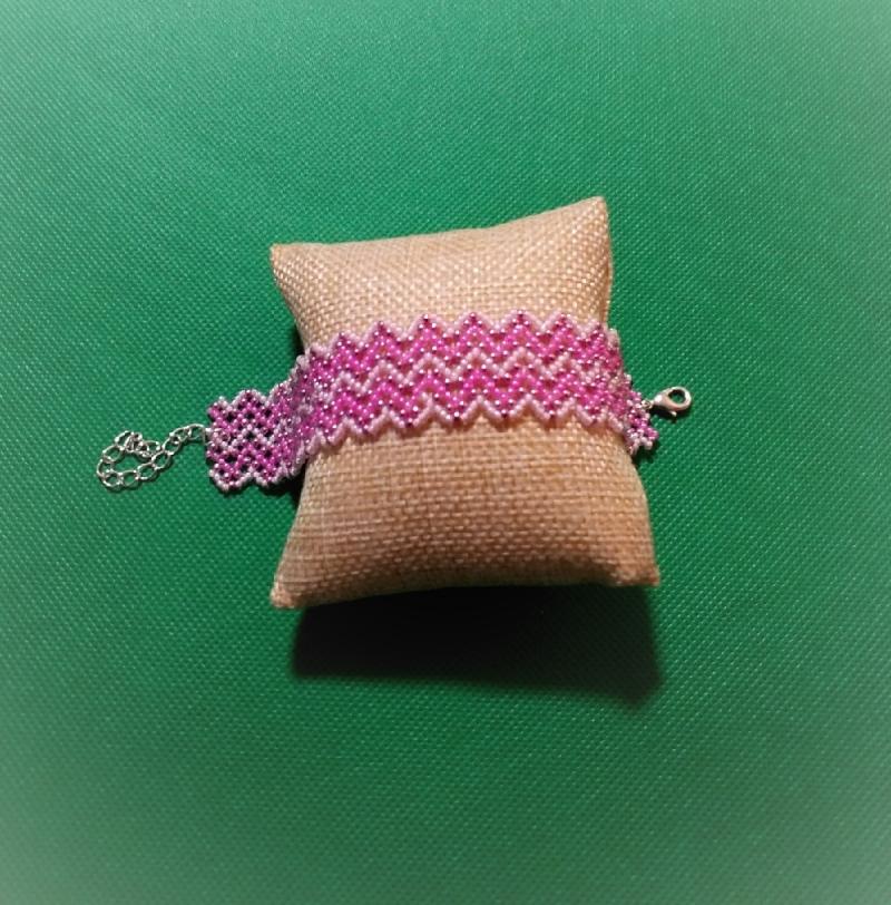 - Armband aus Glasperlen, Handarbeit  - Armband aus Glasperlen, Handarbeit