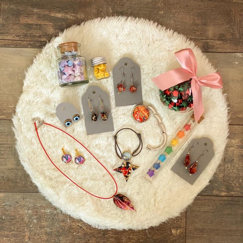 Kleinesbild - Origami Adventskalender, Partnerkalender, 24 Hand gefaltete Boxen zum selber füllen als DIY Geschenk ODER bereits gefüllt von Leverra
