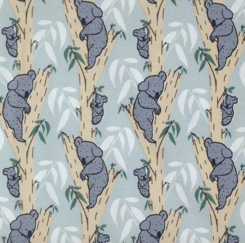 Material : BIO Jersey Kinderstoff mit Koalas // lillestoff Koala ...