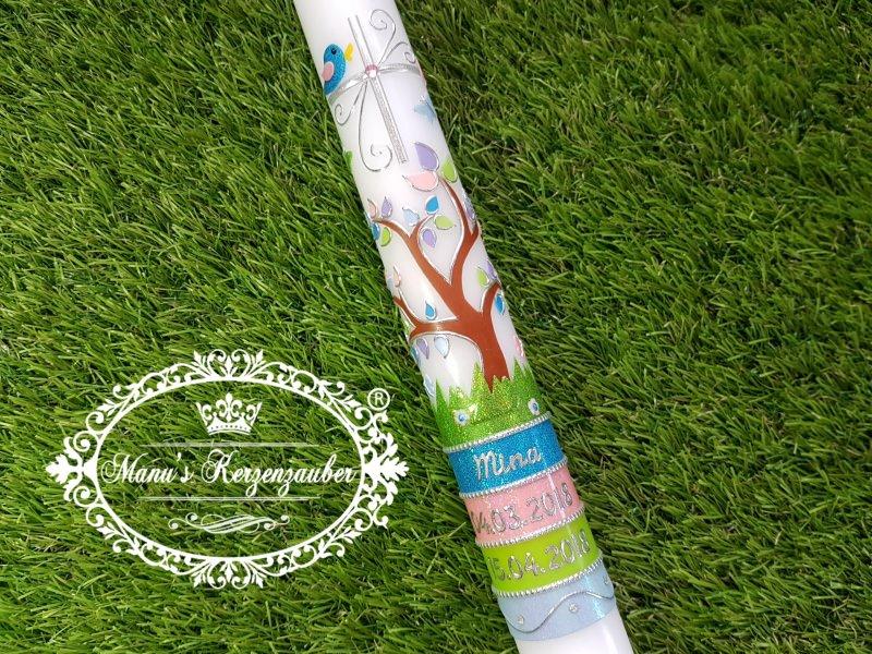 - Kommunionkerze Lebensbaum Untergrund Das Original© - Kommunionkerze Lebensbaum Untergrund Das Original©
